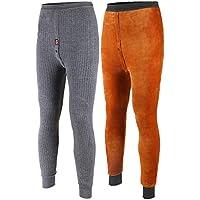 [MCBM] 【 寒波を撃破 ベルベット素材 二層構造 】分厚い 冬現場に最適 完全防寒 メンズ インナーパンツ ズボン下 ももひき タイツ 肌着 下着