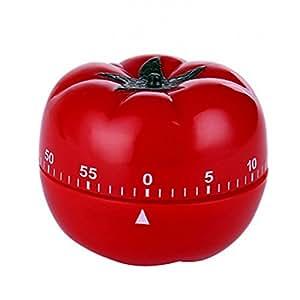 かわいい キッチンタイマー トマトタイマー 1~60分 360度