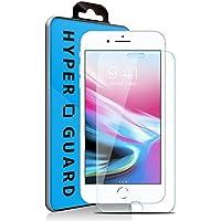 [HYPER GUARD]【第2世代】 交換保障 iPhone8 / iPhone7 / iPhone6s / iPhone6 共用 ブルーライトカット 92% 日本製 AGC HD旭硝子 強化ガラスフィルム 極薄 0.33mm 3dタッチ 硬度9H ラウンドエッジ加工 クリア 保護フィルム 保護シート ガラスフィルム 国産 iPhone 8 iPhone 7 iPhone6s iPhone6 アイフォン7 アイフォン8 アイフォン6s アイフォン6 v079 16AC9-3-CLRvb