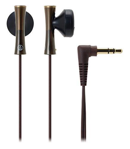 audio-technica オーディオテクニカ インナーイヤーヘッドホン ブラウン ATH-J100-BW ×