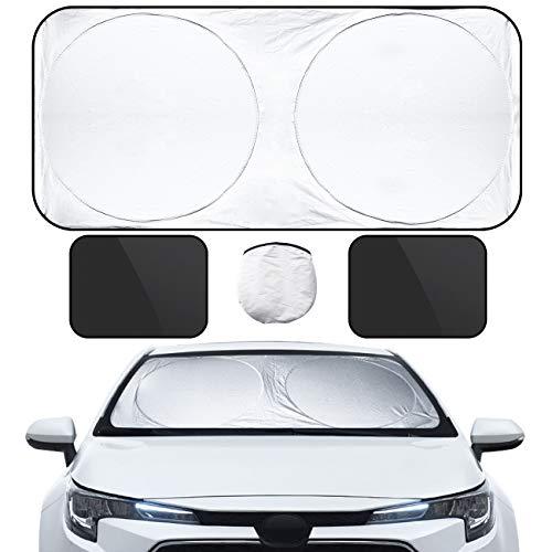 VARNIC 車用サンシェード 遮光 遮熱 カーシェード 紫外線対策 UVカ...