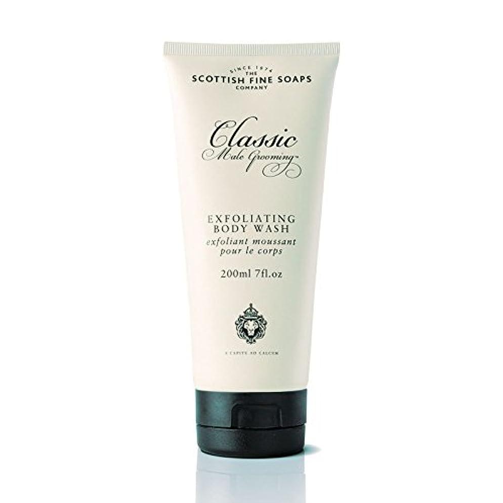 ペイン禁輸姓SCOTTISH FINE SOAPS(スコティッシュファインソープ) Classic Male Grooming(クラシックグルーミングシリーズ) ボディウォッシュ 200ml 5016365002509