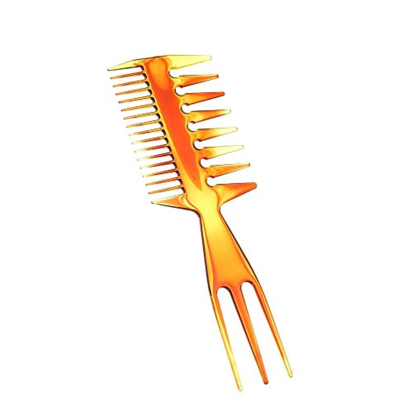 誠実ゲインセイ流体Decdeal 櫛 多機能 理髪 くし メンズ スタイリングヘアサロンコーム