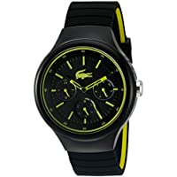 Lacoste Men's 2010867 Year-Round Analog Quartz Black Watch