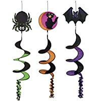 Classic Halloween Icon Wind-Spinners (asstd designs) Party Accessory (1 count) (1/Pkg) [並行輸入品]
