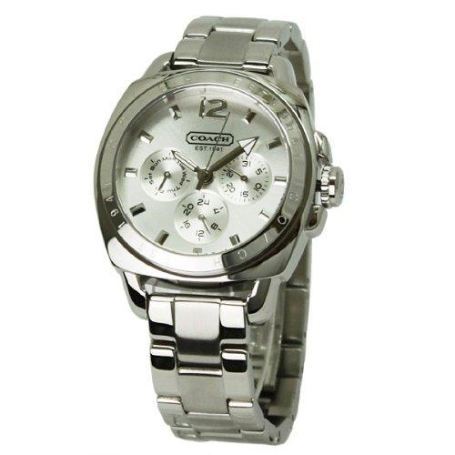[コーチ] COACH 腕時計 腕時計 レディース ボーイフレンド シルバー カレンダー付き 14501213 【並行輸入品】
