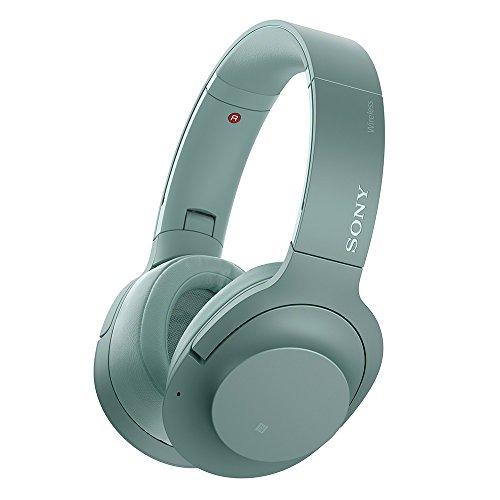 ソニー SONY ワイヤレスノイズキャンセリングヘッドホン h.ear on 2 Wireless NC WH-H900N : ハイレゾ/Bluetooth対応 最大28時間連続再生 密閉型 マイク付き 2017年モデル ホライズングリーン WH-H900N G