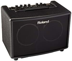 Roland ローランド アコースティック ギター アンプ 15W+15W ブラック AC-33