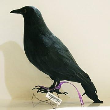 プエブコ PUEBCO バードオフジェ ARTIFICIAL BIRDS カラス Crow Mサイズ 103075