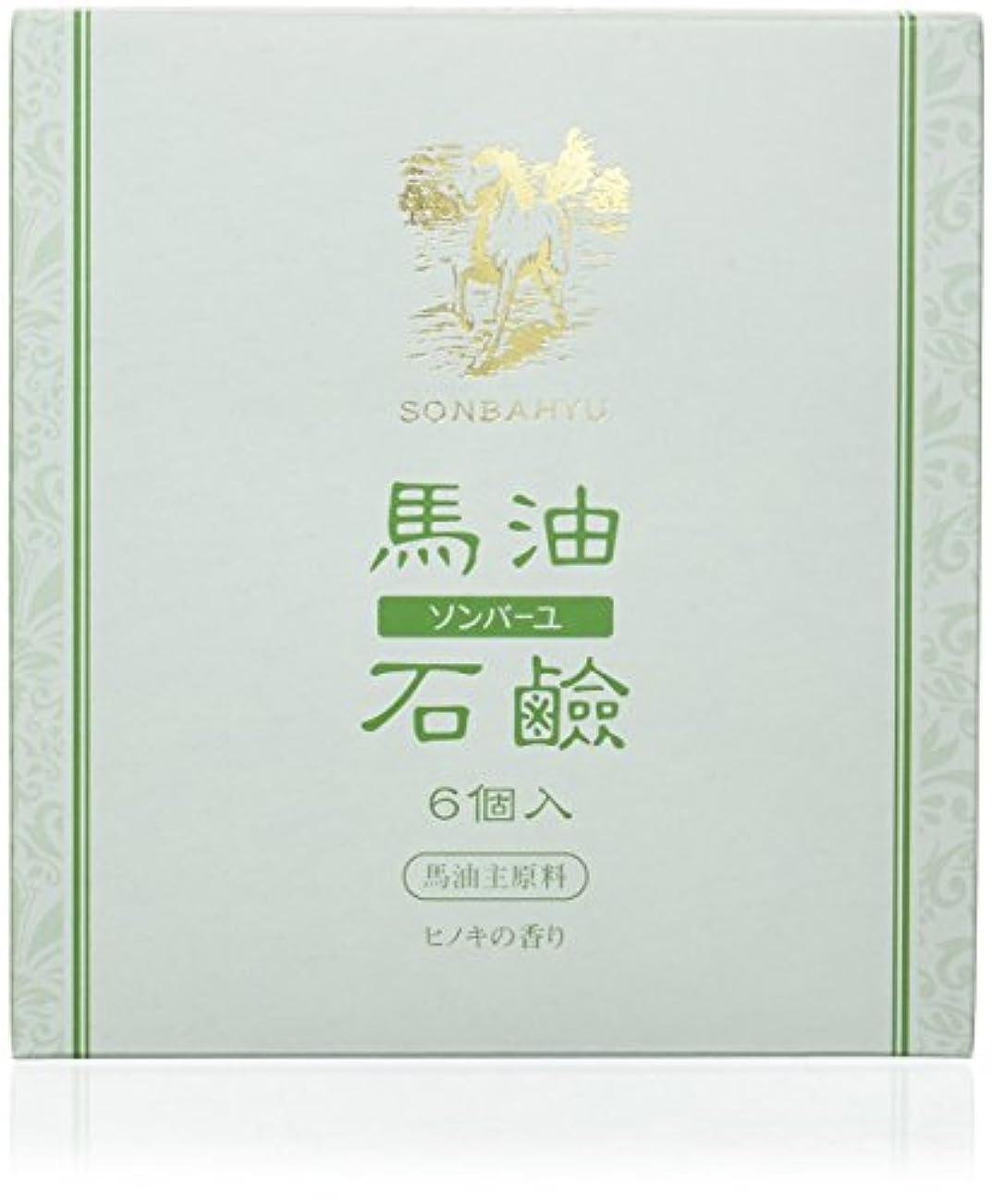 分析的な以前はファンシーソンバーユ石鹸 85g×6個 ヒノキの香り