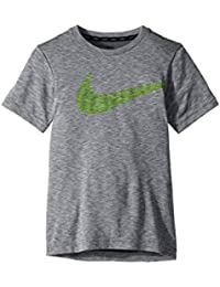 (ナイキ) NIKE キッズTシャツ Breathe Training Top (Little Kids/Big Kids) Cool Grey/White XL (18-20 Big Kids) (14歳+) One...