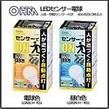 生活日用品 雑貨 LEDセンサー電球 人感・明暗センサー 40W相当E26 昼白色(LDA5N-H・R51)