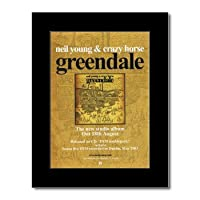 NEIL YOUNG - Greendale Mini Poster - 28.5x21cm