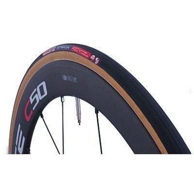 challenge STRADA 28×25C チューブラータイヤ(622) ブラック×スキン