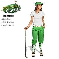 ゴルフKnickersレディースOutfit–Matchingゴルフキャップ–ライム 2