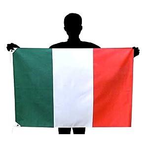 イタリア国旗 NO1 トリコローレ サイズ:70×105cm 高級テトロン製 日本製
