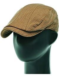 [PLIC N PLOC]EMH09.ペンシルストライプメンズベレー帽 ハンチング フラットキャップ帽子 鳥打ち帽 春 秋