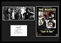The Beatles Let It Be サインプリント 証明書付きフレーム 1