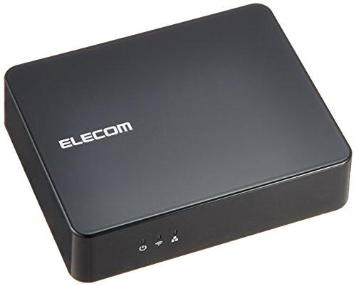 ELECOM エレコム iPhone6 iPhone6 Plus 対応 Wi-Fi接続  オーディオレシーバーBOX 光デジタル出力搭載 Android iPhone Mac対応 ブラック LDT-AVWAR800