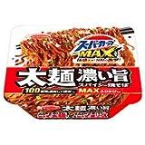 エースコック スーパーカップMAX 大盛り 太麺濃い旨スパイシー焼そば 176g×12個入
