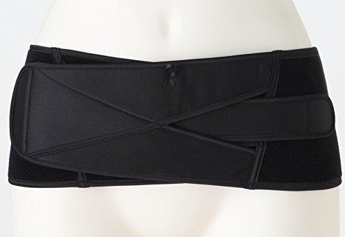 犬印本舗 産後すぐしっかり締める骨盤ベルト L ブラック N3200R