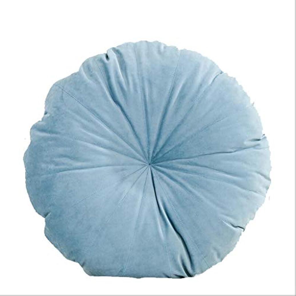 年金受給者月面怖いシンプルなラウンドクッション、ソファの背もたれのぬいぐるみのベッドの複数の色(ハンドステッチ)の枕カー腰の枕45 * 45センチメートル BZHEN (Color : A)