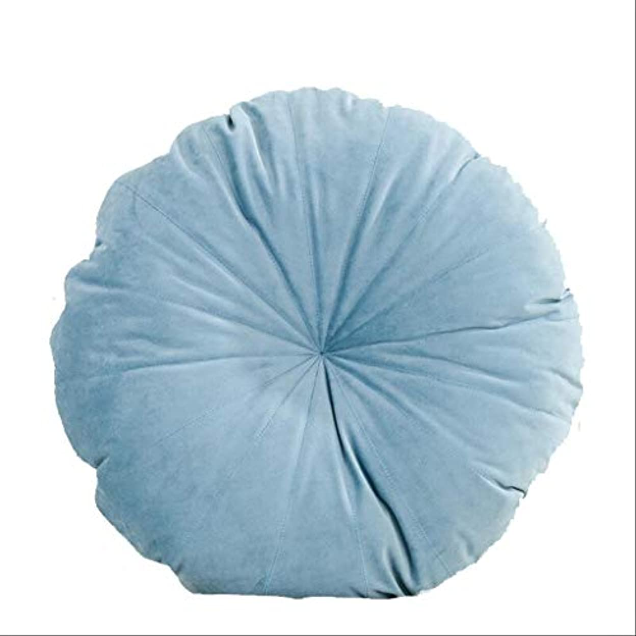 漏斗アジア人腸シンプルなラウンドクッション、ソファの背もたれのぬいぐるみのベッドの複数の色(ハンドステッチ)の枕カー腰の枕45 * 45センチメートル BZHEN (Color : A)
