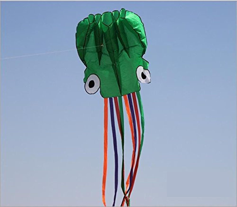 4 M、柔らかい布Octopus Kiteアウトドアおもちゃ 123