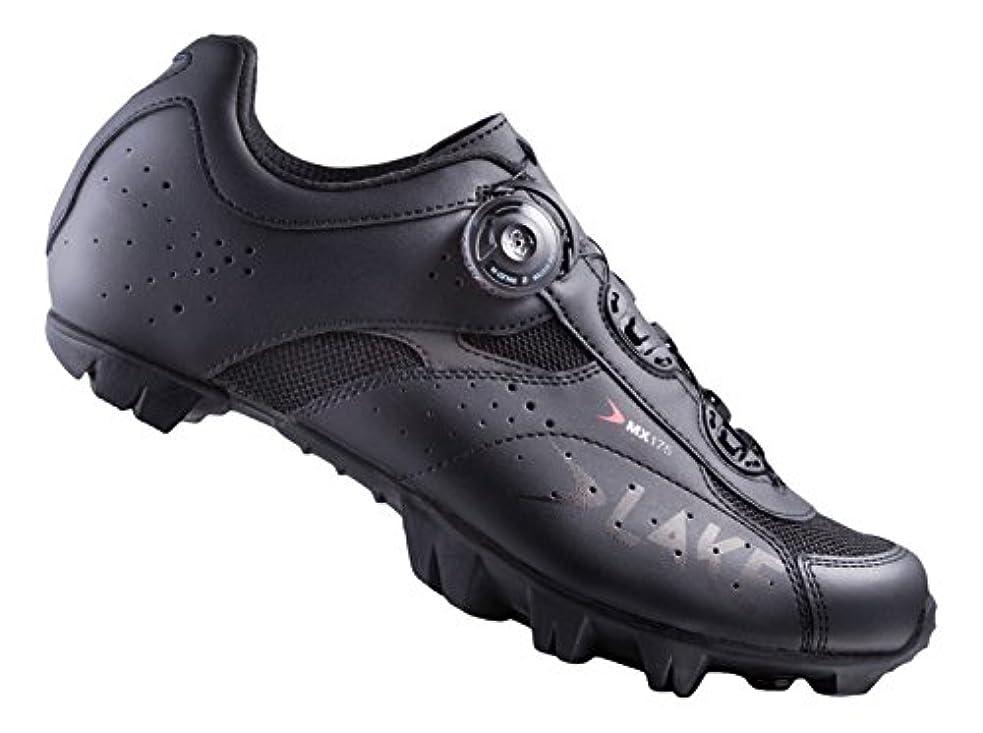 アデレード志す泣いているLake Cycling メンズ MX175-X ワイド マウンテン バイキング シューズ