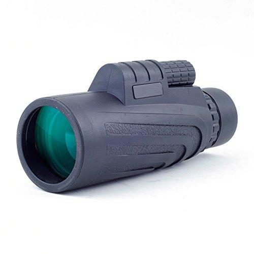MeeQee 10 x 42 デュアル フォーカス 単眼鏡 プリズム フィルム 光学製品 三脚 対応 防水 低暗視 バードウォッチング 狩猟 キャンプ ハイキング ゴルフ コンサート 監視用