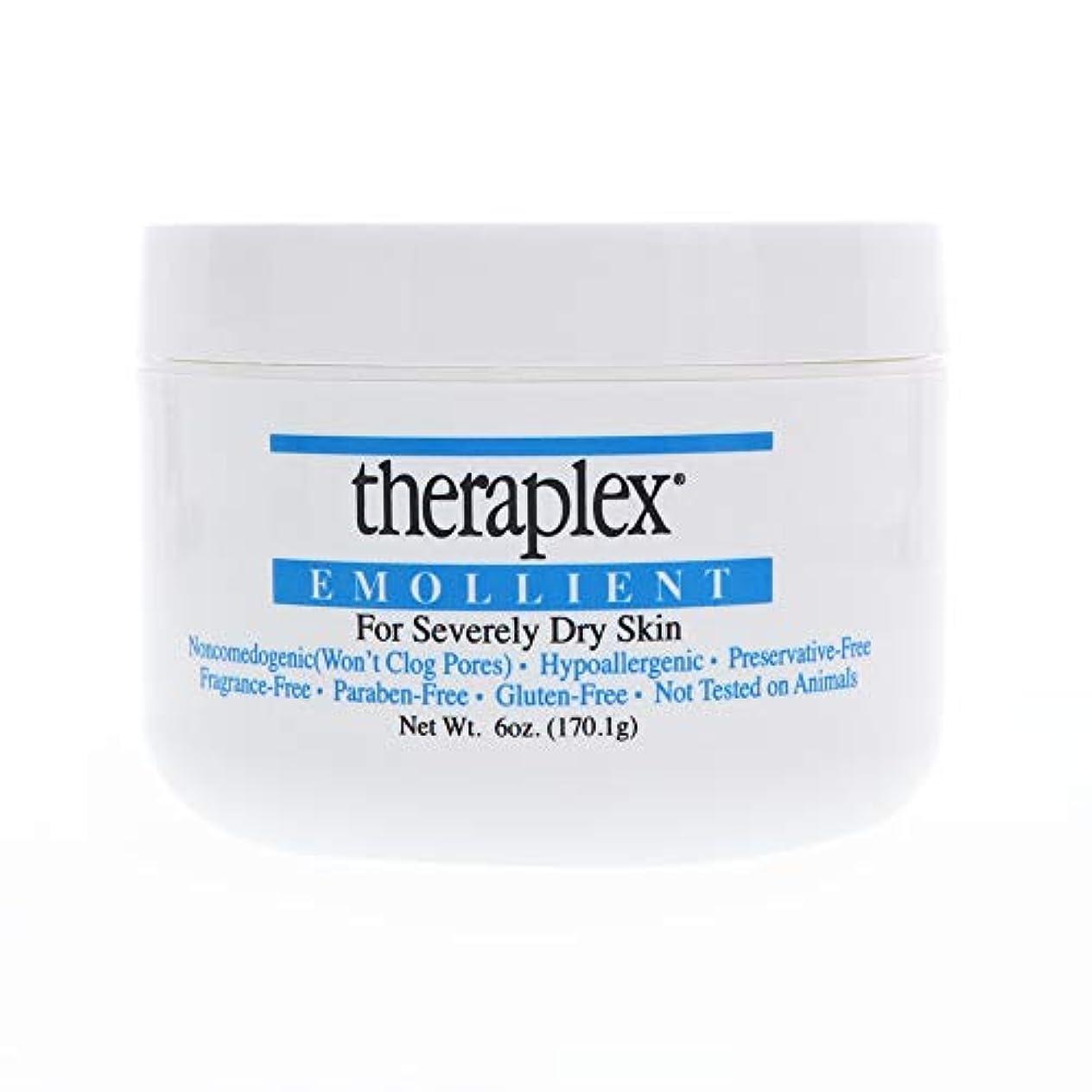 ジャンプする全く季節Theraplex Emollient for Severely Dry Skin 6オンス