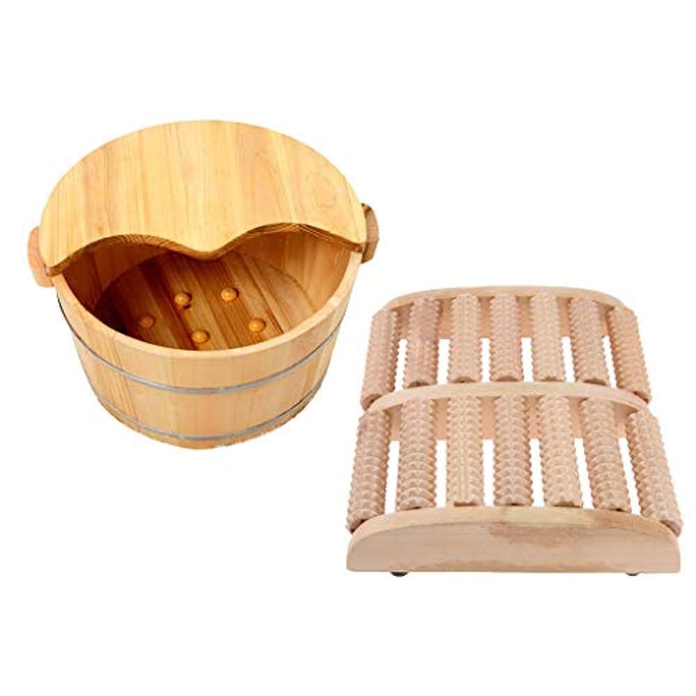 始めるテーブル離れてD DOLITY マッサージローラー フットバス 木製 足踏み ツボ押し ストレス解消 血行促進 睡眠改善 耐久性