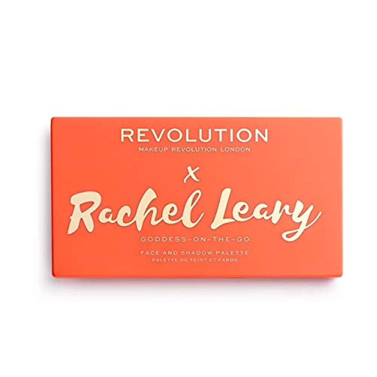 確執感じハンサムメイクアップレボリューション ORIGINAL Revolution x Rachel Leary Goddess On The Go Palette 13色アイシャドウパレット REVOLUTION