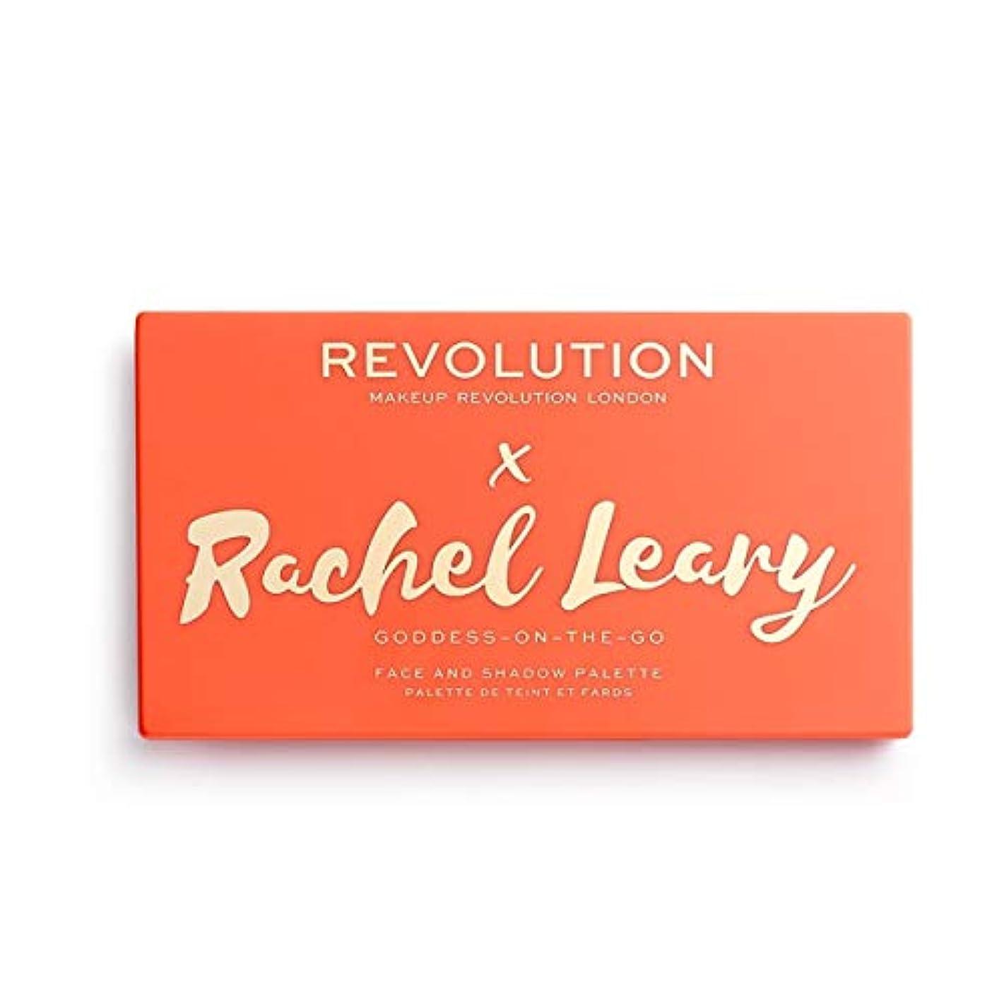 開始受取人十一メイクアップレボリューション ORIGINAL Revolution x Rachel Leary Goddess On The Go Palette 13色アイシャドウパレット REVOLUTION