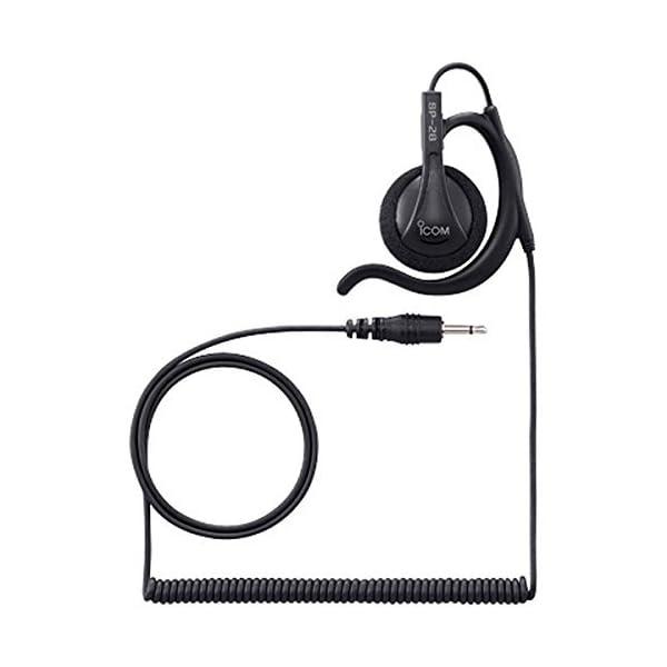 アイコム トランシーバー用 耳掛け型イヤホン 黒...の商品画像