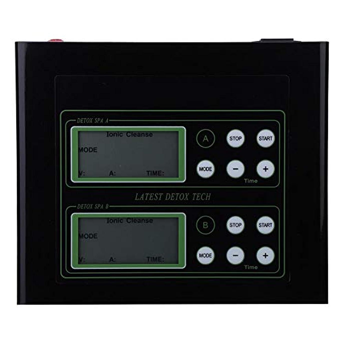ホラーラリーベルモント書き出す60Wイオン解毒のフィート機械、親のギフトのためのLCD表示が付いているイオンのフィートの浴室の二重使用(US)
