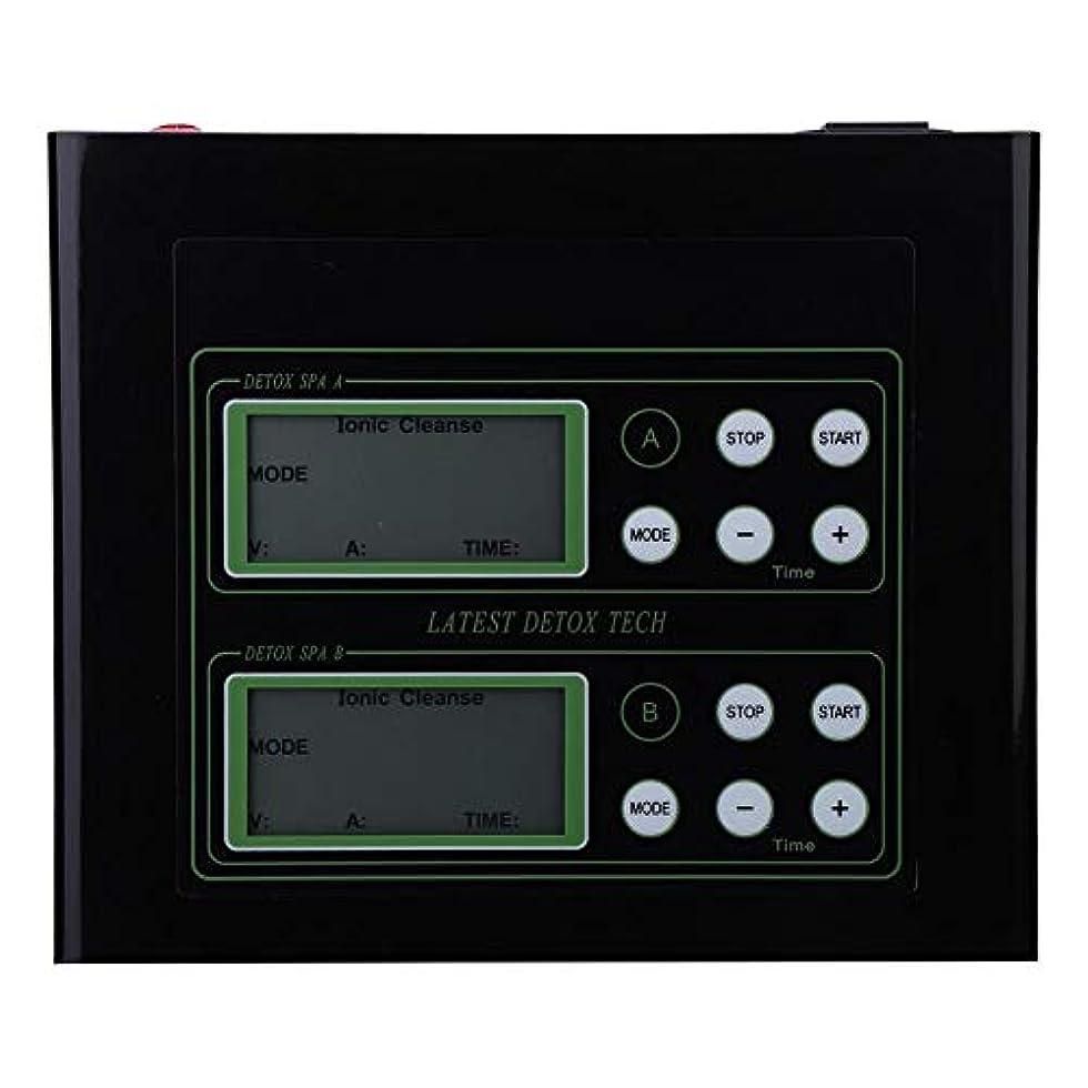 晴れ闘争キャンセル60Wイオン解毒のフィート機械、親のギフトのためのLCD表示が付いているイオンのフィートの浴室の二重使用(US)