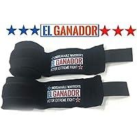 EL GANADOR Hand Wrap BLACK バンテージ 400cm