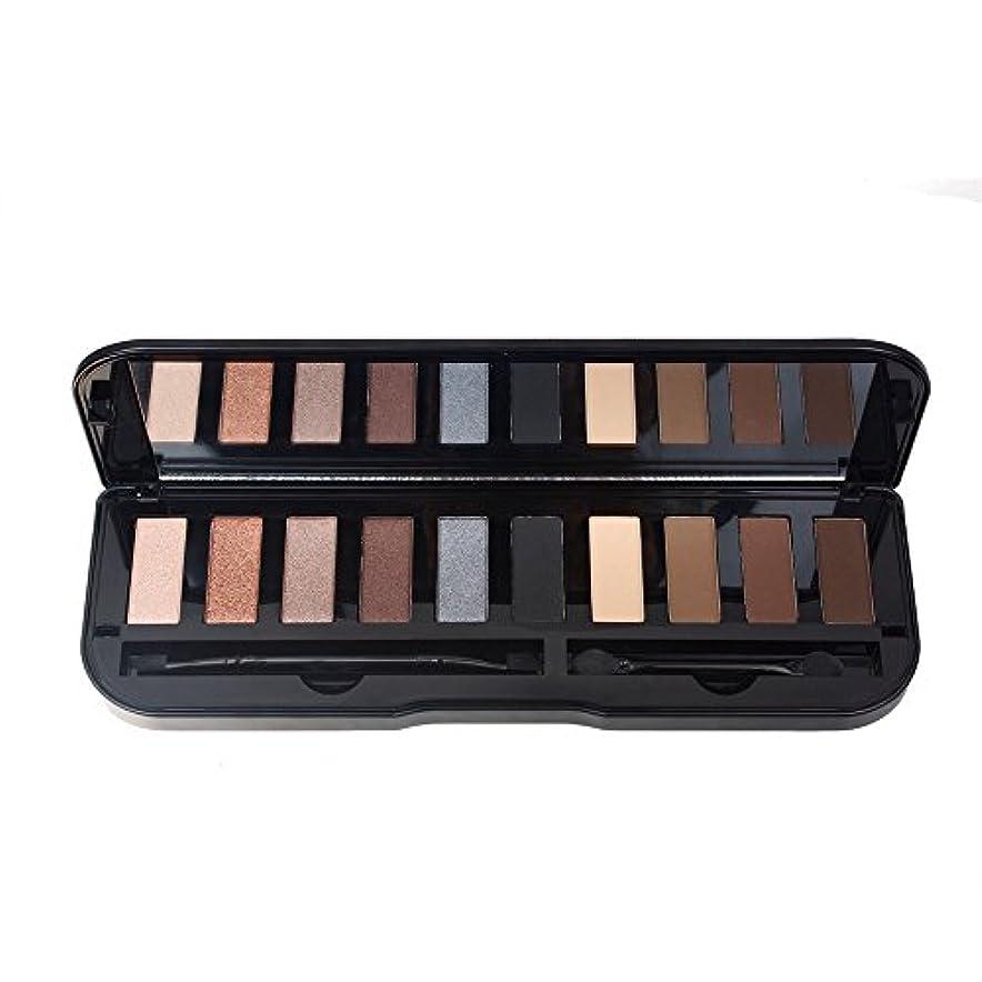 オッズ販売員着実にAkane アイシャドウパレット 魅力的 ファッション 黒 マット チャーム 防水 キラキラ 長持ち 綺麗 おしゃれ 持ち便利 Eye Shadow (10色) A10