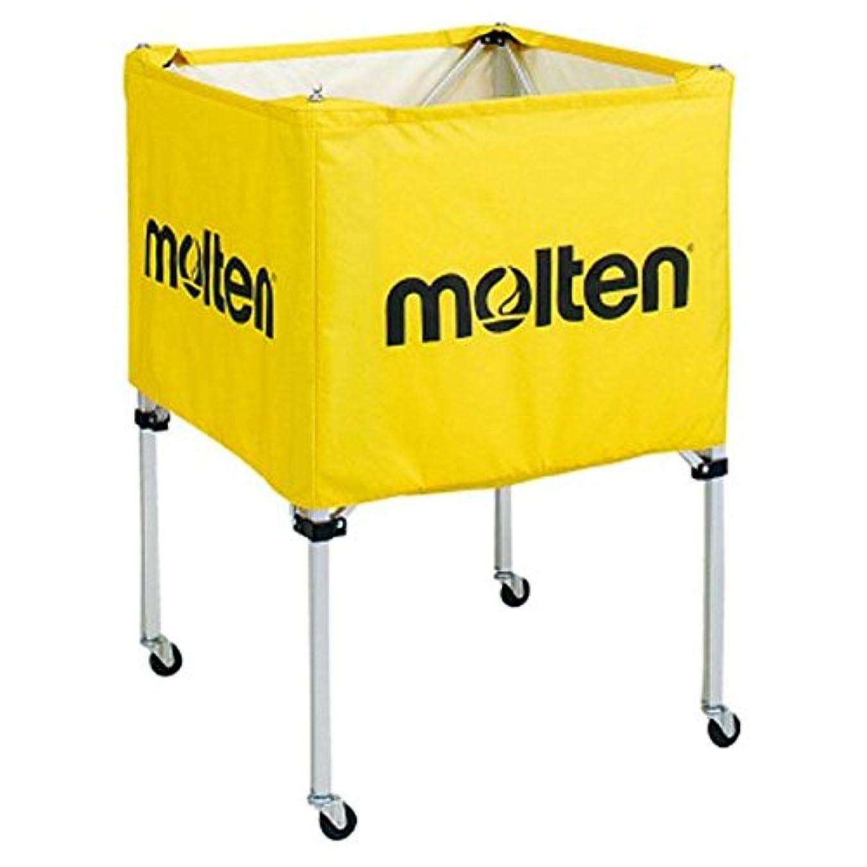 親愛なパイルアボートモルテン(Molten) 折りたたみ式ボールカゴ(中?背低) 黄 BK20HLY