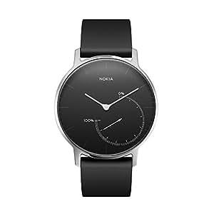 Nokia スマートウォッチ Steel アクティビティ&睡眠監視 ブラック 【日本正規代理店品】 HWA01-STEEL-BLACK-