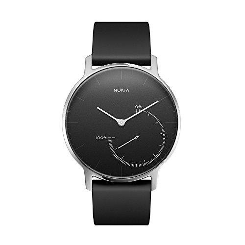 Nokia スマートウォッチ Steel アクティビティ&睡眠監視 ブラック...