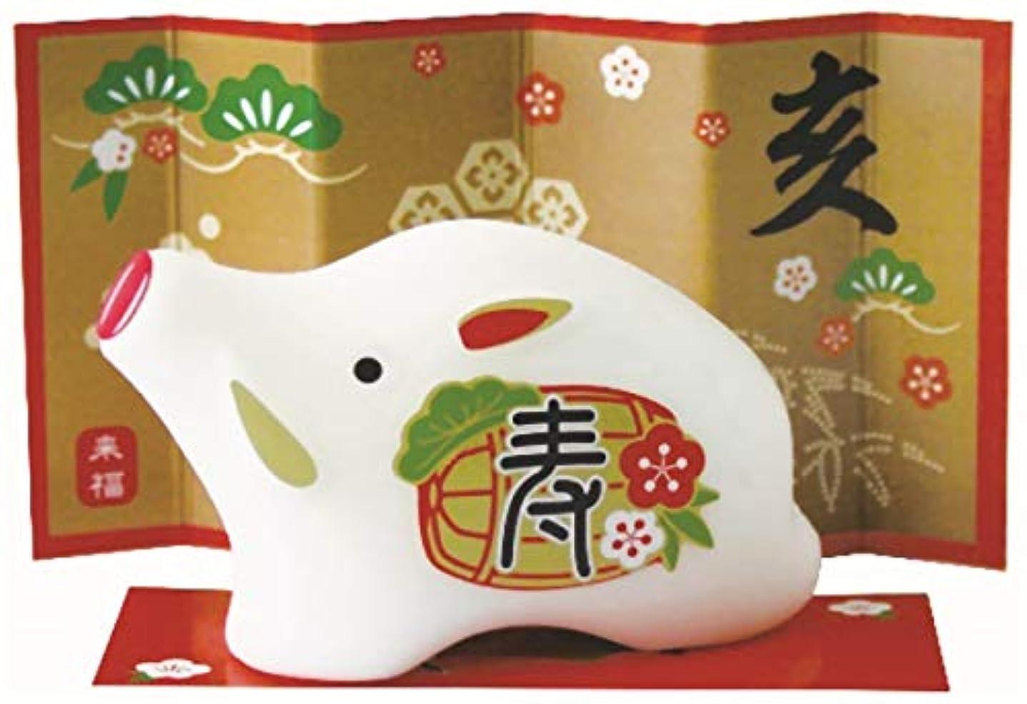 ホース砦マイクロフォン日本製 made in japan 来福石けん[亥] 20-51 【まとめ買い100個セット】