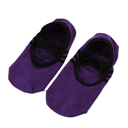 [해외]QIAONAI 여성을위한 요가 양말 밸리 양말 발바닥 커버 미끄럼 방지 기능 여성용 양말 밸리 등 댄스 연습시 양말 운동 용 상쾌한 통기성 좋은 속건 스포츠/QIAONAI Ladies` Yoga Socks Valley Socks Foot Back Cover With Slippers Women`s Socks Val...