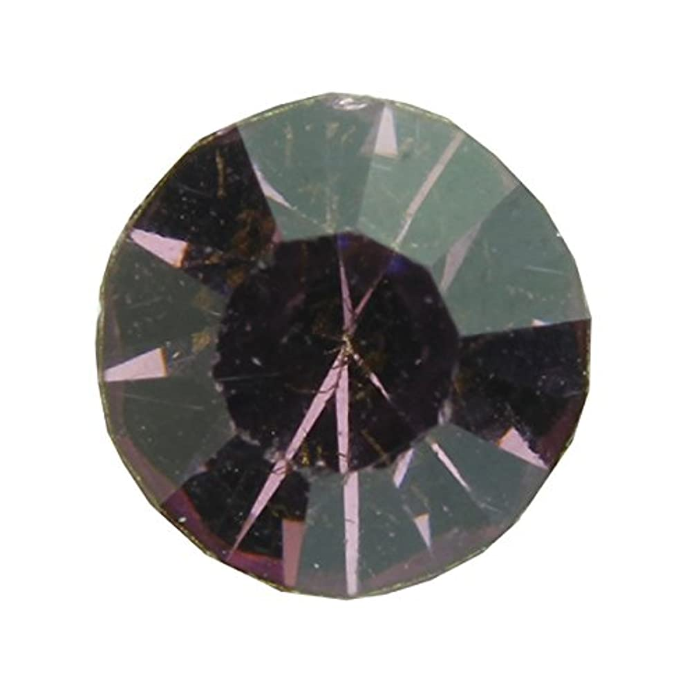 オフセット重力ピアノを弾くアクリルストーンVカット ss12(約3.0mm)(30個入り) アメジスト
