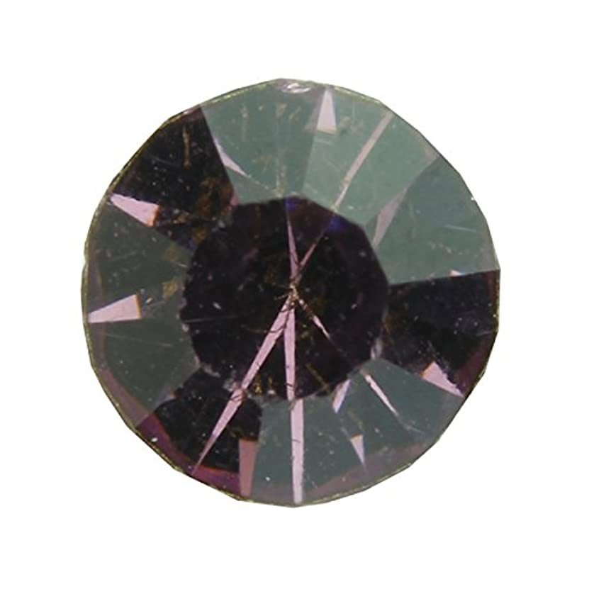 癒す不屈教育学アクリルストーンVカット ss12(約3.0mm)(30個入り) アメジスト