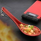 StrapyaNext わ、本物そっくり原寸大っっ 原寸大っっ レンゲですくった麻婆豆腐ストラップ(赤黒)ZKST1077【でかストラップ】