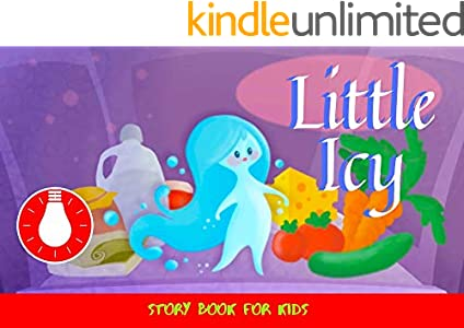 Little Icy: Before Bed Children's Book- Cute story - Easy reading Illustrations -Cute Educational Adventure   . (English Edition)