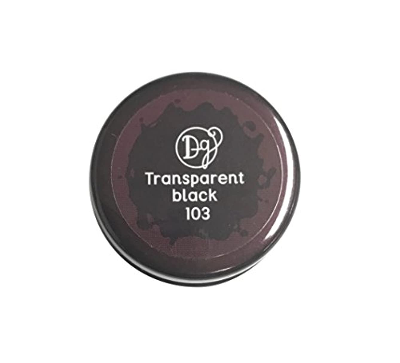 一瞬ベギン換気DECORA GIRL カラージェル #103 トランスペアレントブラック