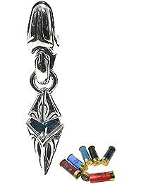 [エムズコレクション] M's collection トライバル ペンデュラム ブルージルコニア シルバー 925 ピアス メンズ 片耳用 1P 人気 ブランド